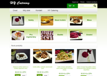 E-shop of gastronomy company Hy Catering