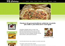 Web prezentation for catering company Hy Catering