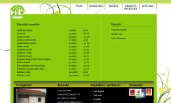 Tvorba internetových stránek - Reference - Masérská studia