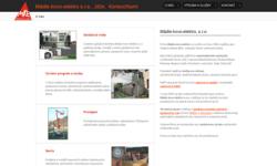 Tvorba internetových stránek - Reference - Stavebnictví, rekonstrukce