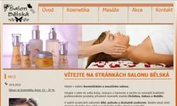 Tvorba internetových stránek - Reference - Kosmetická studia