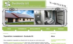 Tvorba internetových stránek - Reference - Instalatérství