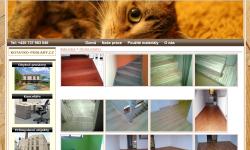 Tvorba internetových stránek - Reference - Podlahářství, pokladači podlah